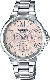 Японские женские часы в коллекции Sheen Женские часы Casio SHE-3511D-4A