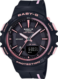 Японские женские часы в коллекции Baby-G Женские часы Casio BGS-100RT-1A