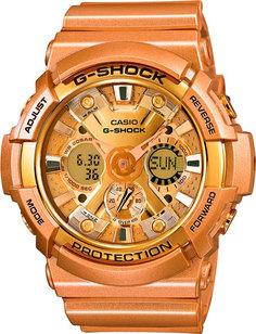 Японские мужские часы в коллекции G-SHOCK Мужские часы Casio GA-200GD-9A