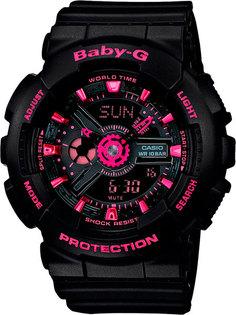 Японские женские часы в коллекции Baby-G Женские часы Casio BA-111-1A