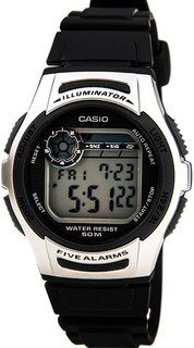 Японские мужские часы в коллекции Collection Мужские часы Casio W-213-1A