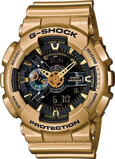 Японские мужские часы в коллекции G-SHOCK Мужские часы Casio GA-110GD-9B