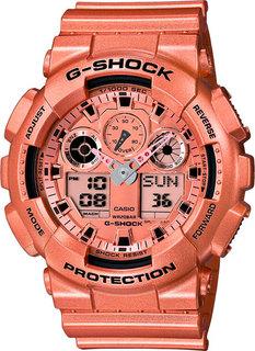 Японские мужские часы в коллекции G-SHOCK Мужские часы Casio GA-100GD-9A