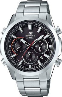 Японские мужские часы в коллекции Edifice Мужские часы Casio EQW-T650D-1A
