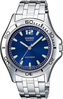 Японские мужские часы в коллекции Collection Мужские часы Casio MTP-1258PD-2A