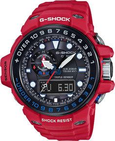 Японские мужские часы в коллекции G-SHOCK Мужские часы Casio GWN-1000RD-4A