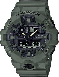 Японские мужские часы в коллекции G-SHOCK Мужские часы Casio GA-700UC-3A