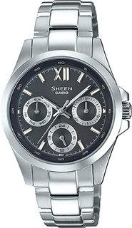 Японские женские часы в коллекции Sheen Женские часы Casio SHE-3512D-1A