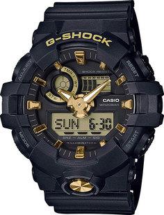 Японские мужские часы в коллекции G-SHOCK Мужские часы Casio GA-710B-1A9