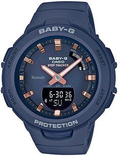 Японские женские часы в коллекции Baby-G Женские часы Casio BSA-B100-2A