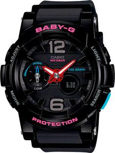 Японские женские часы в коллекции Baby-G Женские часы Casio BGA-180-1B