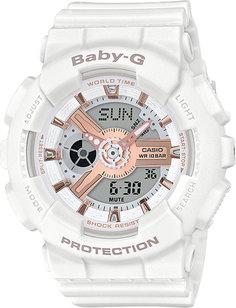 Японские женские часы в коллекции Baby-G Женские часы Casio BA-110RG-7A