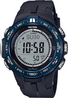 Японские мужские часы в коллекции Pro Trek Мужские часы Casio PRW-3100YB-1E