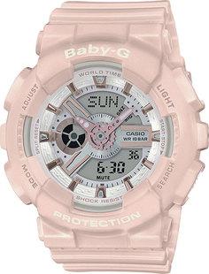 Японские женские часы в коллекции Baby-G Женские часы Casio BA-110RG-4A