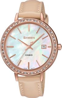 Японские женские часы в коллекции Sheen Женские часы Casio SHE-4052PGL-7B