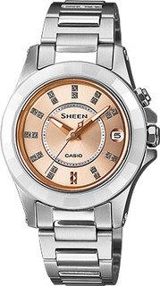 Японские женские часы в коллекции Sheen Женские часы Casio SHE-4509SG-4A
