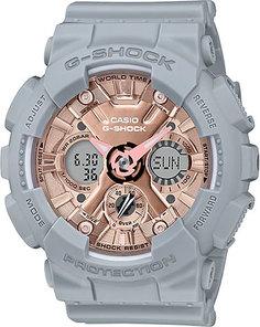 Японские женские часы в коллекции G-SHOCK Женские часы Casio GMA-S120MF-8A