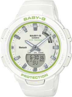 Японские женские часы в коллекции Baby-G Женские часы Casio BSA-B100SC-7AER