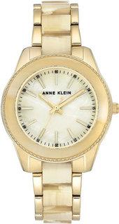 Женские часы в коллекции Plastic Женские часы Anne Klein 3214HNGB