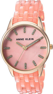 Женские часы в коллекции Crystal Женские часы Anne Klein 2616LPGB