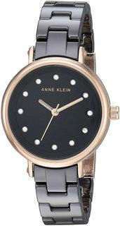 Женские часы в коллекции Ceramics Женские часы Anne Klein 3312BKRG