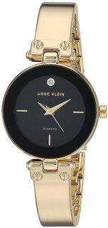 Женские часы в коллекции Diamond Женские часы Anne Klein 3236BKGB