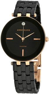 Женские часы в коллекции Diamond Ceramics Женские часы Anne Klein 3310BKRG