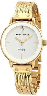 Женские часы в коллекции Diamond Женские часы Anne Klein 3220WTGB