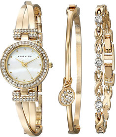 Женские часы в коллекции Ring Женские часы Anne Klein 1868GBST