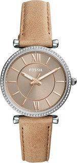 Женские часы в коллекции Carlie Женские часы Fossil ES4343