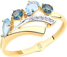 Золотые кольца Кольца SOKOLOV 715567_s