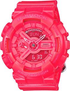 Японские женские часы в коллекции G-SHOCK Женские часы Casio GMA-S110CC-4A