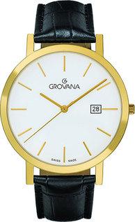 Швейцарские мужские часы в коллекции Traditional Мужские часы Grovana G1230.1913