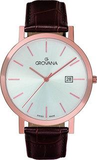 Швейцарские мужские часы в коллекции Traditional Мужские часы Grovana G1230.1962