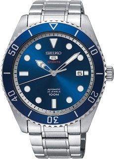 Японские мужские часы в коллекции SEIKO 5 Sports Мужские часы Seiko SRPB89K1