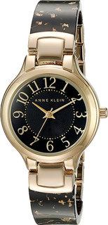 Женские часы в коллекции Plastic Женские часы Anne Klein 2380BKGB