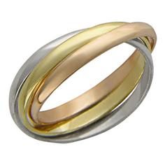 Золотые кольца Кольца Эстет 01O060022