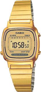 Японские женские часы в коллекции Collection Женские часы Casio LA-670WEGA-9E