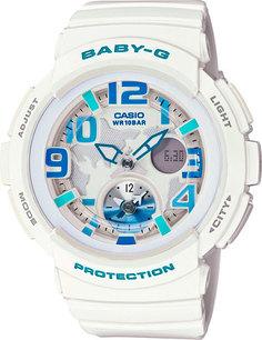 Японские женские часы в коллекции Baby-G Женские часы Casio BGA-190-7B
