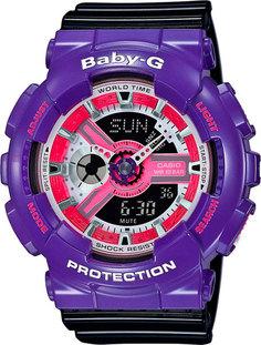 Японские женские часы в коллекции Baby-G Женские часы Casio BA-110NC-6A