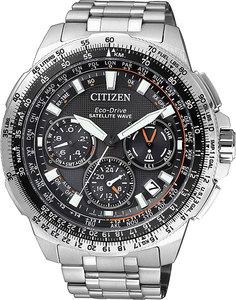 Японские мужские часы в коллекции Satellite Wave Мужские часы Citizen CC9020-54E