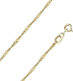 Золотые цепочки Цепочки Красцветмет NC-15-028-0-30