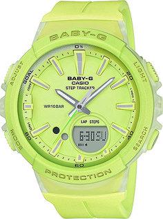 Японские женские часы в коллекции Baby-G Женские часы Casio BGS-100-9A