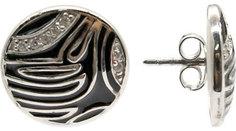 Серебряные серьги Серьги Element47 by JV 05S2AZE164404CUBAEA