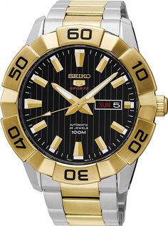 Японские мужские часы в коллекции SEIKO 5 Sports Мужские часы Seiko SRPA56K1