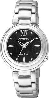 Японские женские часы в коллекции Elegant Женские часы Citizen EM0331-52E