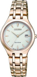 Японские женские часы в коллекции Eco-Drive Женские часы Citizen EW2493-81B