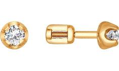 Золотые серьги Серьги SOKOLOV 1020614_s