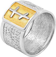 Серебряные кольца Кольца Серебро России K-0004RZ-56442