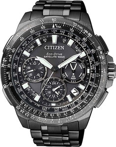 Японские мужские часы в коллекции Satellite Wave Мужские часы Citizen CC9025-51E